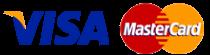 Visa & Mastercard Credit Cards Accepted