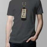 Monty Python T-shirt – charcoal