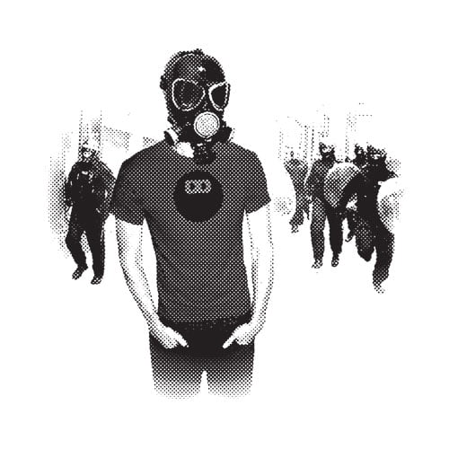 Alternate Tshirt Terrorist T-shirts brand logo - riot guy