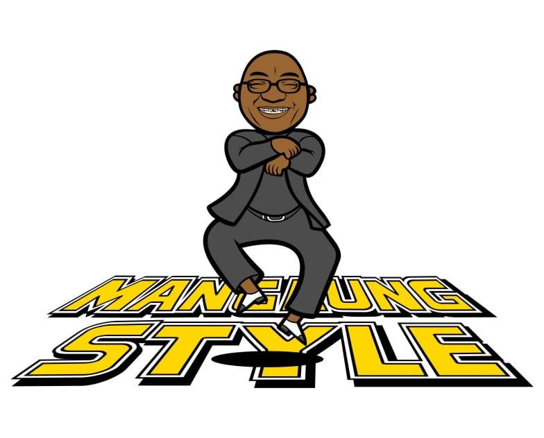 gangnam style spoof jacob zuma mangaung style