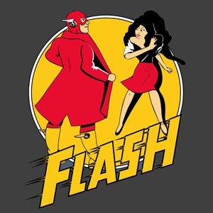 Superhero Comic T-shirt - Flash