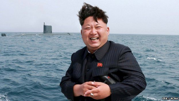 kim jong-un north korea submarine missile launch