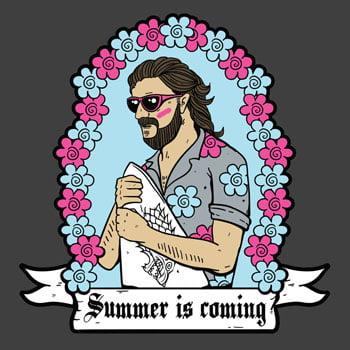 ee76070fe5de Summer is Coming Game of Thrones T-shirt by Tshirt Terrorist