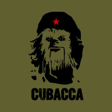 cubacca star wars olive t-shirt