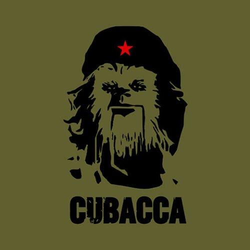 cubacca star wars olive t-shirt