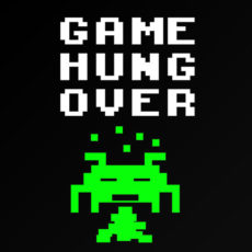 game over gaming geek nerd drinking t-shirt