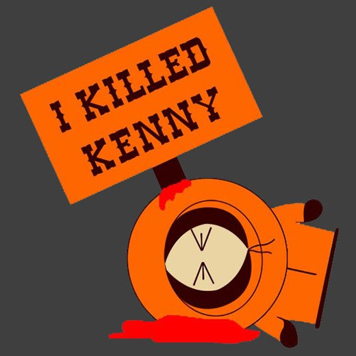 south park i killed kenny pardoy funny comic t-shirt