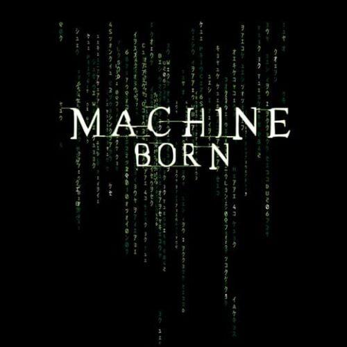 the matrix machine born pop cult movie t-shirt