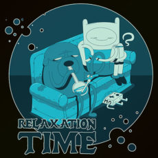 cool stoner adventure time t-shirt