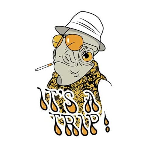 star wars admiral akbar fear and loathing hst t-shirt