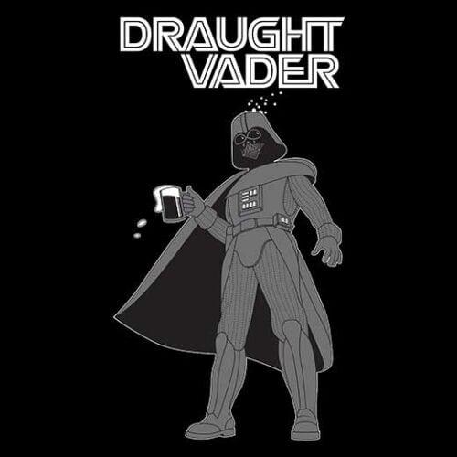 star wars vader drinking t-shirt