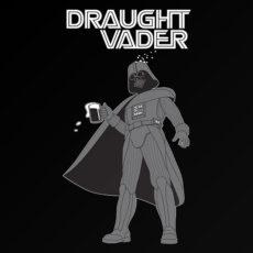 funny vader star wars spoof drinking t-shirt
