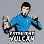 star trek leonard nimoy mr spock bruce lee enter the dragon t-shirt