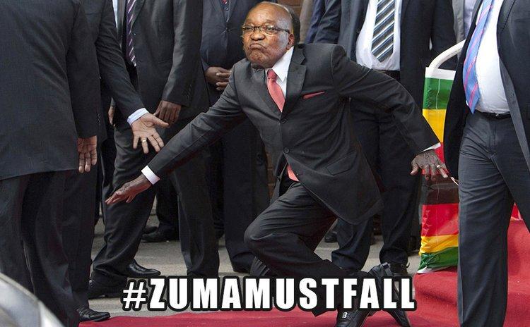 robert mugabe jacob zuma they must all fall meme