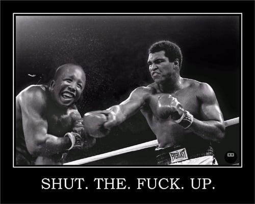 muhammed ali boxing julius malema