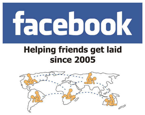 facebook helping friends get laid