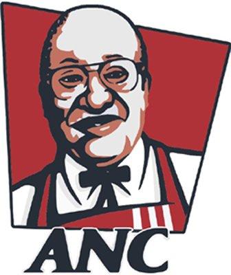 zacob zuma as colonel sanders anc kfc