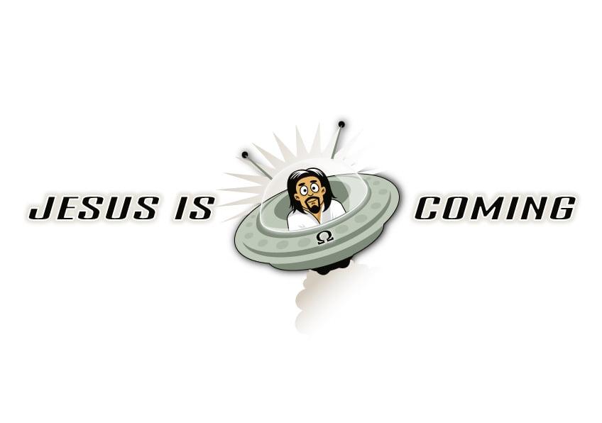 Jesus in a UFO