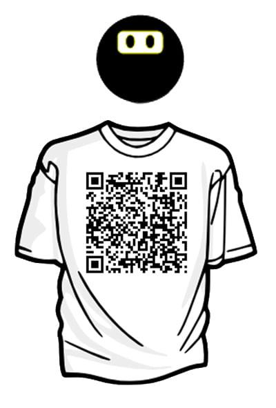 qr code for tshirt terrorist designs under fire