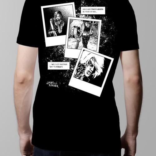bloody kisses luke molver neroverse graphic novel t-shirt