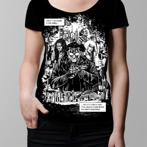 sobracaine luke molver neroverse graphic design t-shirt