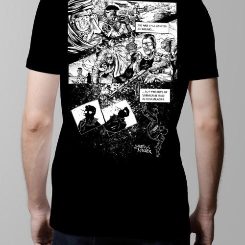 sobracaine luke molver neroverse graphic novel t-shirt