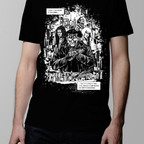 sobracaine luke molver t-shirt neroverse graphic novel t-shirt