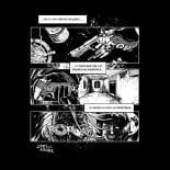 mnemonica black t-shirt – back
