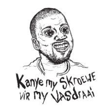 kanye west is an ass parody t-shirt