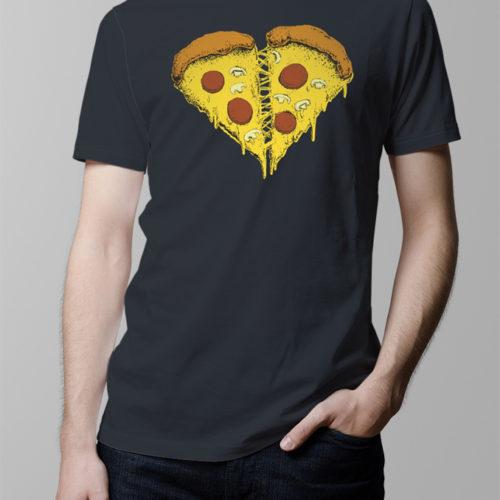 pizza lovers designer illustration food t-shirt