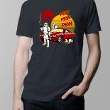 Pew Pew Men's T-shirt – charcoal