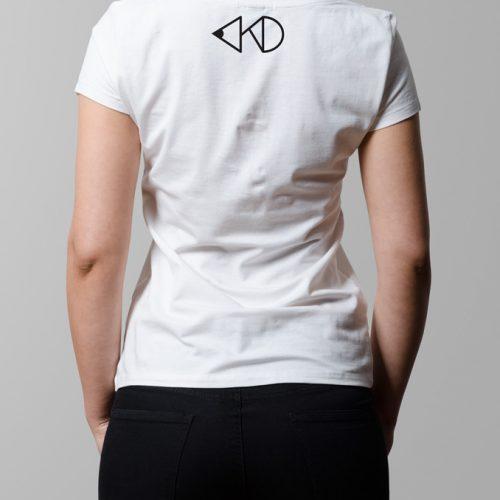 kitchen dutch nape print - ladies white