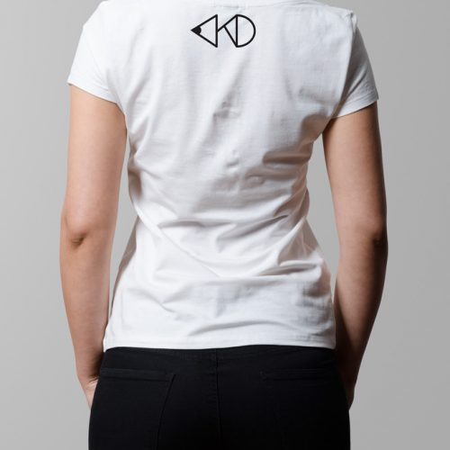 kitchen dutch nape print - ladies white