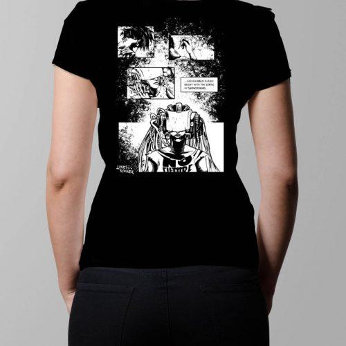 sawn-offs cyberpunk graphic novel neroverse metamorphosis t-shirt
