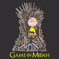 game of thrones charlie brown parody mash-up tee