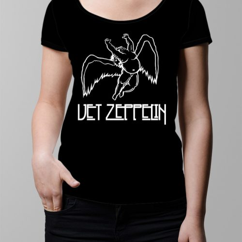 Vet Led Zeppelin Ladies' t-shirt - black