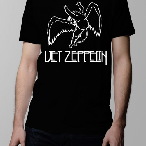 Vet Led Zeppelin Men's t-shirt - black