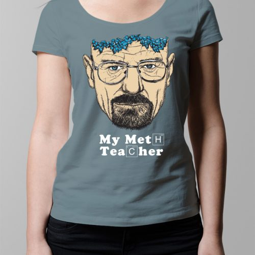 Walter White Breaking Bad T-shirt - Ladies' steel