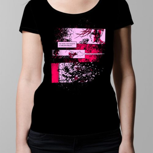 Fiery The Angels Fell Ladies' T-shirt - black (front)