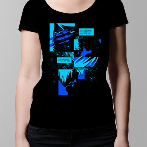 Bloody Kisses Neroverse T-shirt - Ladies' black (front)