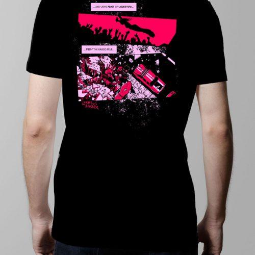 Fiery The Angels Fell Men's T-shirt - black (back)