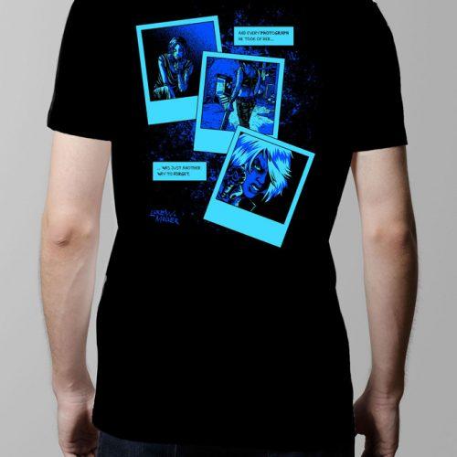 Bloody Kisses Neroverse T-shirt - Men's black (back)