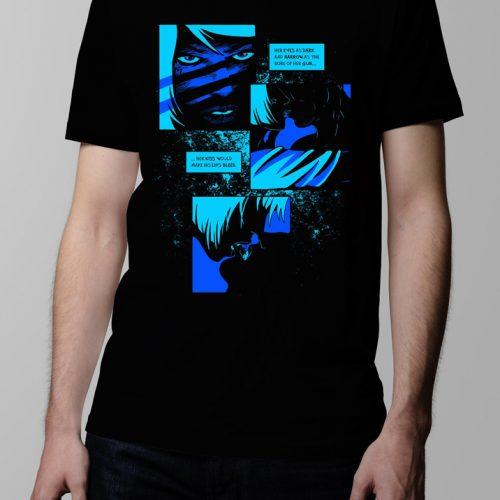 Bloody Kisses Neroverse T-shirt - Men's black (front)