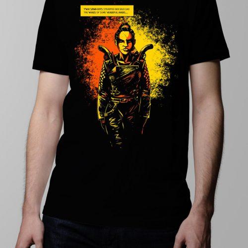 Sawn offs Graphic Novel T-shirt - Men's black (front)