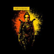 sawn offs graphic novel t-shirt - front
