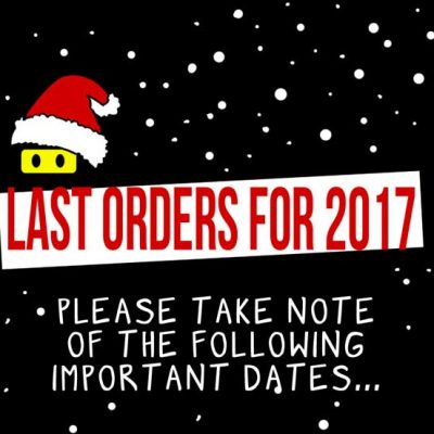 last t-shirt orders for christmas delivery 2017