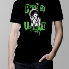 Punk Is Undead Men's T-shirt - black