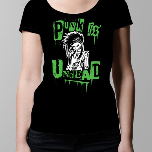 Punk Is Undead Ladies' T-shirt - black