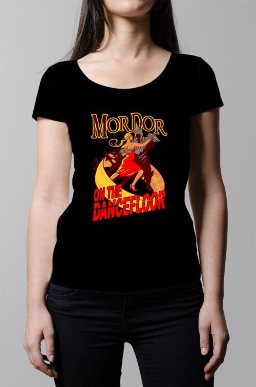 Mordor on the Dance Floor Ladies' T-shirt - black
