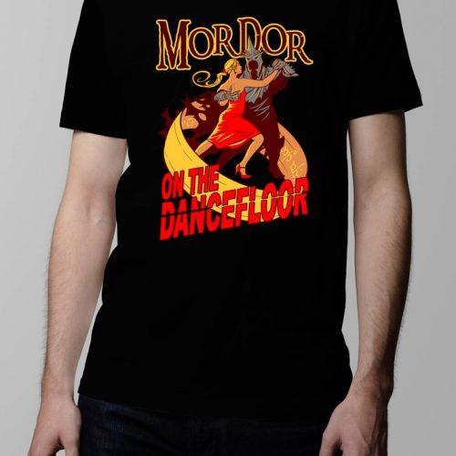 Mordor on the Dance Floor Men's T-shirt - black